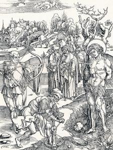 The Martyrdom of St Sebastian, C1495 by Albrecht D?rer