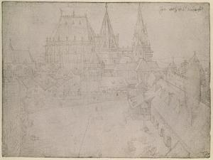 The Minster at Aachen, 1520 by Albrecht D?rer