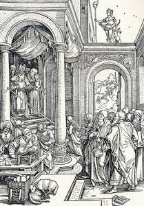 The Presentation of the Virgin in the Temple, 1506 by Albrecht D?rer