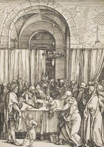 """The Rejection of Joachim's Offering, from the Series """"The Life of the Virgin"""", C.1504 by Albrecht D?rer"""