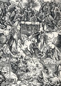The Seven Trumpets are Given to the Angels, 1498 by Albrecht D?rer