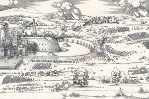 The Siege of a Fortress I, 1527 by Albrecht D?rer