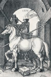 The Small Horse, 1505 by Albrecht D?rer