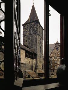 View from Albrecht Duerer's House in Nuernberg, Germany by Albrecht D?rer