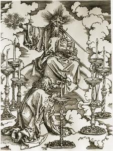 Vision of the Seven Candlesticks by Albrecht D?rer
