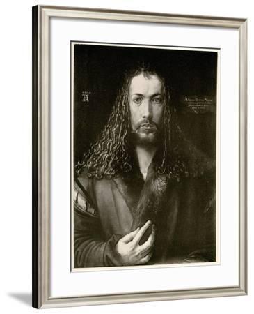 Albrecht Dürer, 1884-90--Framed Giclee Print