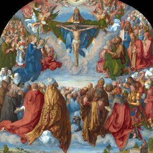 Adoration of the Trinity (Landauer Altarpiece) by Albrecht Dürer