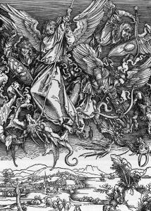 And There was War in Heaven by Albrecht Dürer