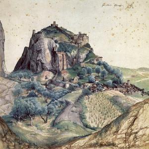 Castle and Town of Arco, 1495 by Albrecht Dürer