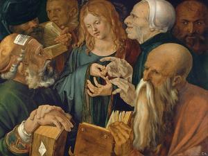 Christ Among the Doctors, 1506 by Albrecht Dürer