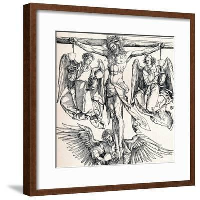 Christ on the Cross with Three Angels, 1523-1525