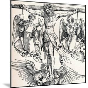 Christ on the Cross with Three Angels, 1523-1525 by Albrecht Dürer