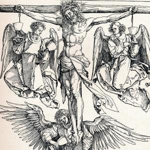 Christ on the Cross with Three Angels, 1523-1525 by Albrecht Dürer