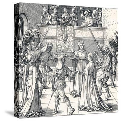 Dance by Torchlight, Augsburg, 1516
