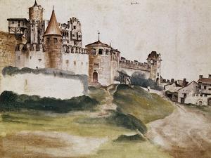 Fortress of Trento, 1495 by Albrecht Dürer
