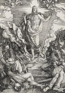 Grande passion - La résurrection du Christ by Albrecht Dürer