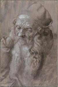 Head of an Old Man, 1521 by Albrecht Dürer
