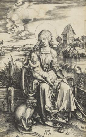 La Vierge à l'Enfant au macaque
