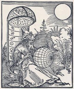 Mediaeval Astronomer by Albrecht Dürer