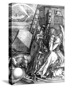 Melancholia, 1514 by Albrecht Dürer
