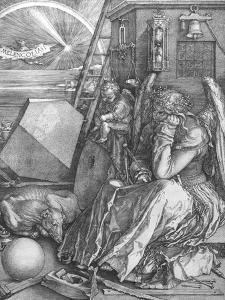 Melancolia, engraving, 1514 by Albrecht Dürer