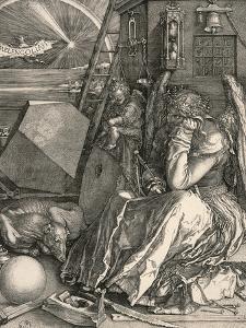 Melencolia I-Melancholia I by Albrecht Dürer