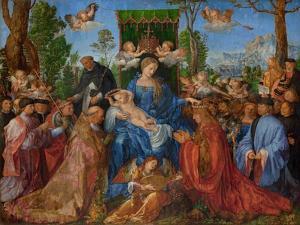 Feast of the Rose Garlands, 1506 by Albrecht Dürer or Duerer