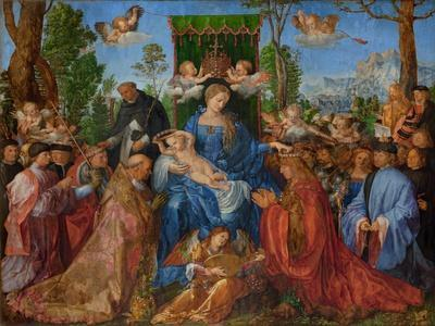 Feast of the Rose Garlands, 1506