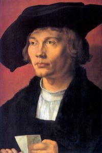 Portrait of Bernhard Von Reese by Albrecht Dürer