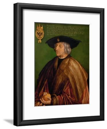 Portrait of Emperor Maximilian I (1459-151), 1519
