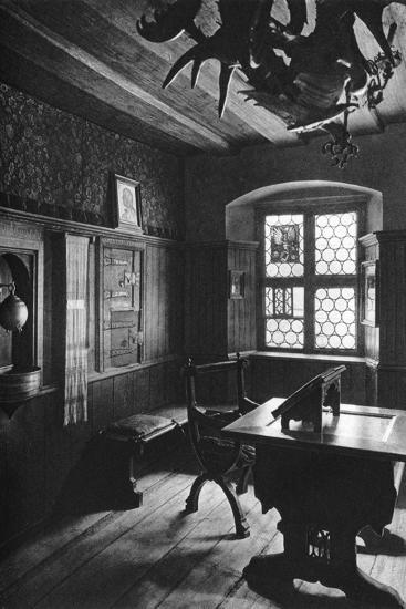 Albrecht Dürer's Work Room, Nuremberg, 1936-Albrecht Durer-Giclee Print