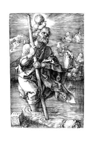 Saint Christopher Facing Right, 1521