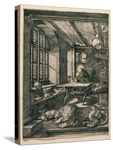 Saint Jerome in His Cell by Albrecht Dürer