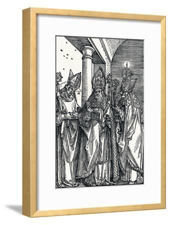 Saints Nicholas, Ulrich and Erasmus, 1508