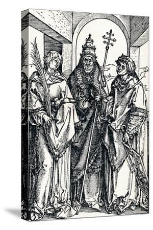 Saints Stephen, Sixtus and Lawrence, 1508