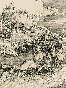 Sea Monster, 1528 by Albrecht Dürer