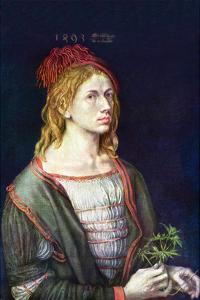 Self Portrait 3 by Albrecht Dürer