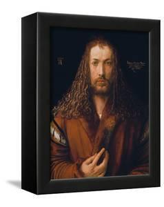 Self Portrait in a Fur-Trimmed Coat, 1500 by Albrecht Dürer