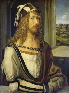 Self-Portrait with Landscape, 1498 by Albrecht Dürer