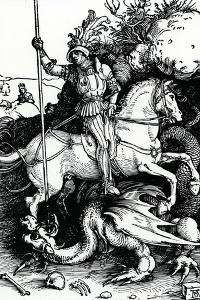 St. George and the Dragon, 1504 by Albrecht Dürer