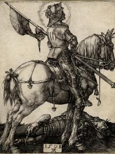 St George on Horseback, 1508 by Albrecht Dürer