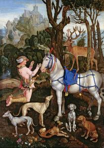 St.Hubert by Albrecht Dürer