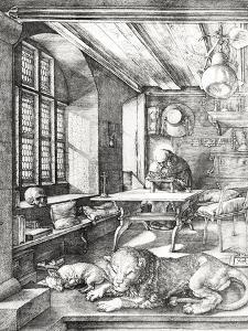 St. Jerome in His Study, 1514 by Albrecht Dürer