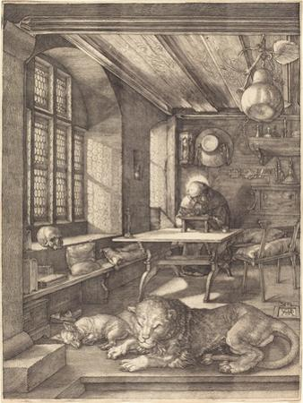 St. Jerome in His Study, 1514