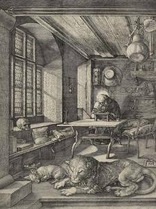 St Jerome in His Study, 1514 by Albrecht Dürer