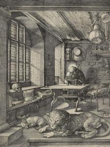 St Jerome in His Study, 1514 by Albrecht Dürer