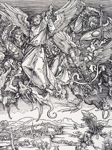 St. Michael Slaying the Dragon by Albrecht Dürer
