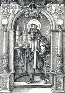 St Sebaldus in the Niche, 1518 by Albrecht Dürer