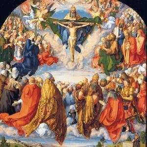 The Adoration of the Holy Trinity (the Landauer Altarpiece) by Albrecht Dürer