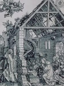 The Adoration of the Shepherds by Albrecht Dürer